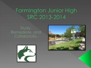 Farmington Junior High SRC 2013-2014