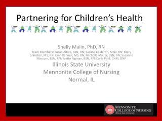 Partnering for Children�s  Health