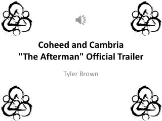 "Coheed  and Cambria  "" The  Afterman "" Official  Trailer"