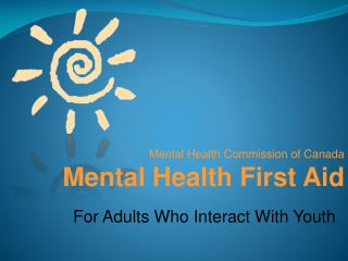 For Adults Who Interact With Youth