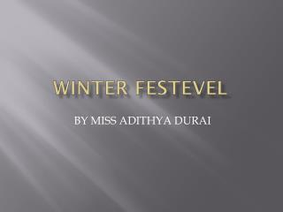 WINTER FESTEVEL