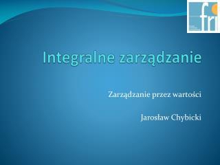 Integralne zarządzanie