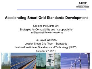 Accelerating Smart Grid Standards Development