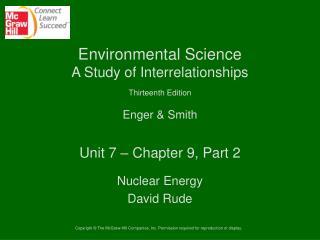 Unit 7 – Chapter 9, Part 2