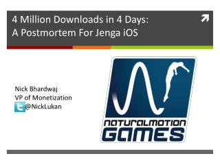 4 Million Downloads in 4 Days: A Postmortem For  Jenga iOS