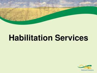 Habilitation Services
