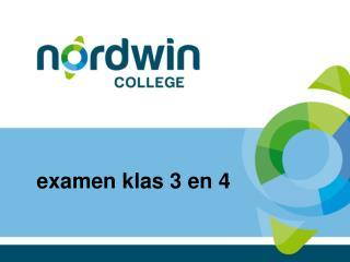 examen klas  3 en 4