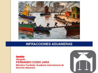 Expositor : Abogado  FERNANDO COSIO JARA