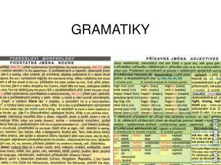 GRAMATIKY