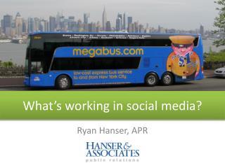 Ryan Hanser, APR