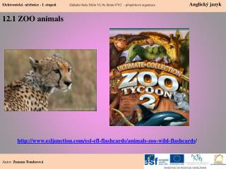 12.1 ZOO  animals