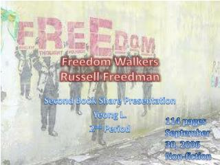 Freedom Walkers Russell Freedman