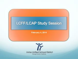 LCFF /LCAP Study Session