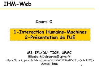 IHM-Web