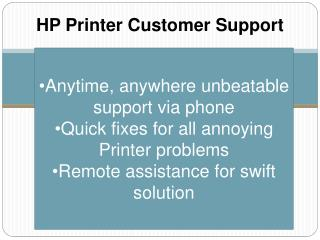HP Printer Customer Support 1-800-832-1504 | Tech Support