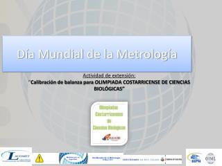 Día Mundial de la Metrología