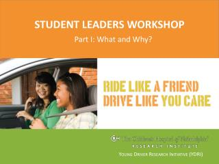 Student leaders workshop