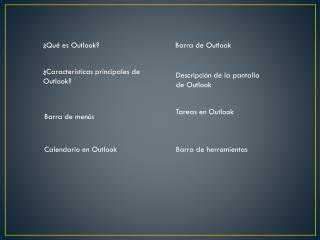 ¿Qué es Outlook?