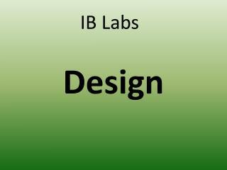 IB Labs