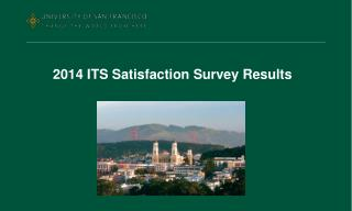 2014 ITS Satisfaction Survey Results