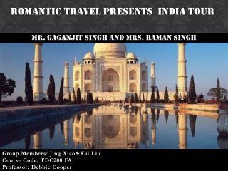 Romantic Travel Presents  India Tour