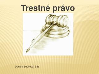 Trestné právo