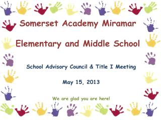 Somerset Academy Miramar Elementary and Middle School