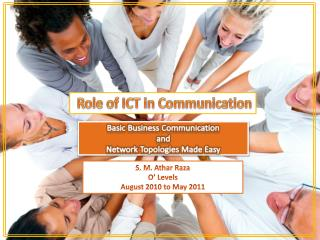 Basic Business Communication and  Network Topologies Made Easy