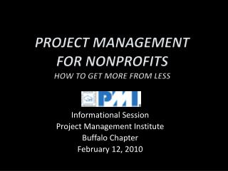 Project Management  For Nonprofits How to Get More From Less