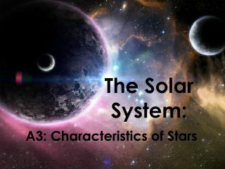The Solar System: