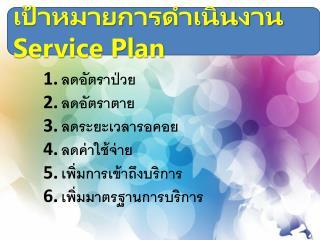 ????????????????????  Service Plan
