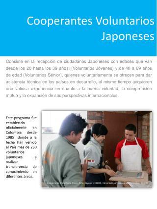 Cooperantes Voluntarios Japoneses