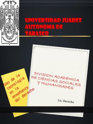 Lic. Derecho