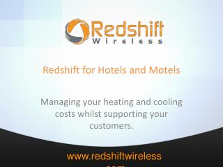 Redshift for Hotels and Motels