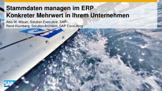 Stammdaten  managen im ERP Konkreter Mehrwert in Ihrem Unternehmen