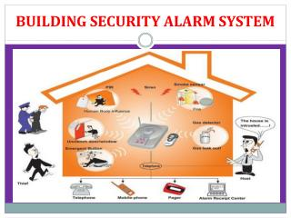 BUILDING SECURITY ALARM SYSTEM