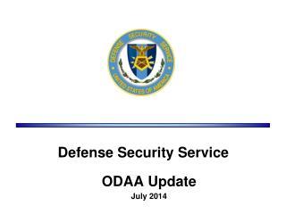 ODAA Update July 2014