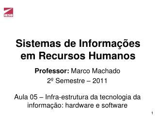 Sistemas de Informa��es em Recursos Humanos