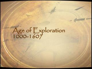 Age of Exploration 1000-1607