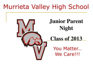 Murrieta Valley High School