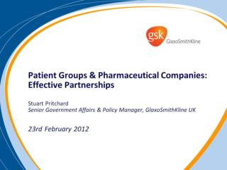 Why does industry engage with patient groups?