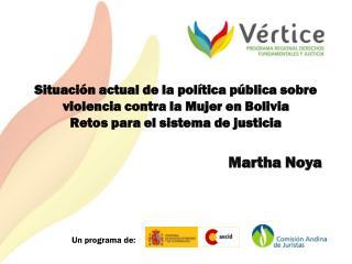 Martha  Noya