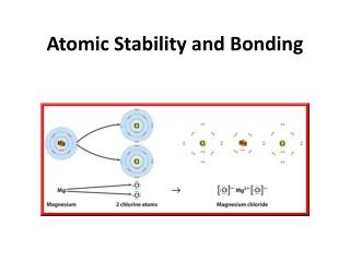Atomic Stability and Bonding