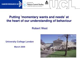Putting momentary wants and needs at the heart of our understanding of behaviour