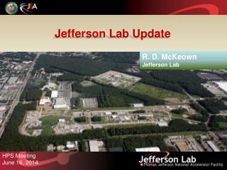 Jefferson  Lab Update