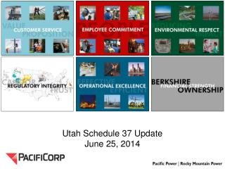 Utah Schedule 37 Update June 25, 2014