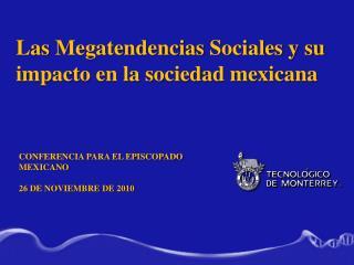 Conferencia para el Episcopado Mexicano 26 de noviembre de 2010