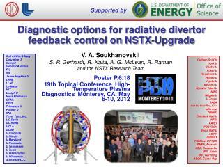 Diagnostic  options for radiative divertor feedback control on NSTX -Upgrade