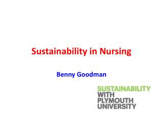 Sustainability in Nursing