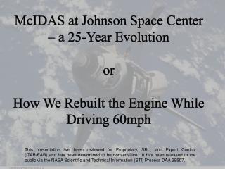McIDAS History at JSC